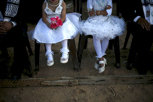 Picture from Daily Beast - There is no excuse for child brides